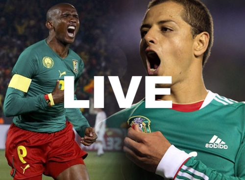 Mexico Cameroon World Cup 2014 Live Streaming Video
