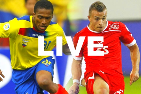 Switzerland Ecuador World Cup Live Stream Video