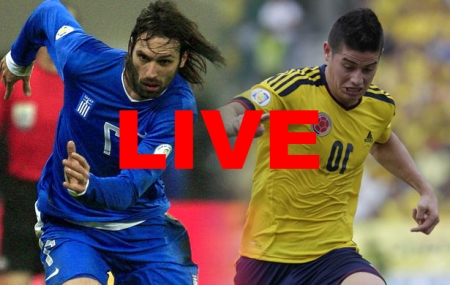 Colombia Greece World Cup 2014 Live Stream Video Replay