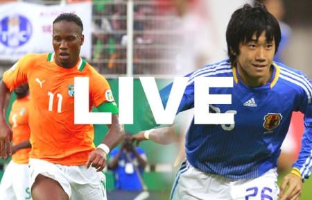 Watch Ivory Coast Japan Live Stream World Cup 2014