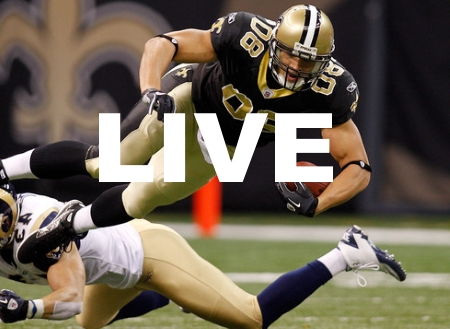 New Orleans Saints Live Stream NFL Football Game Video