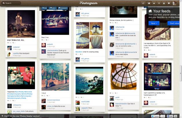 Pinterest + Instagram = Pinstagram