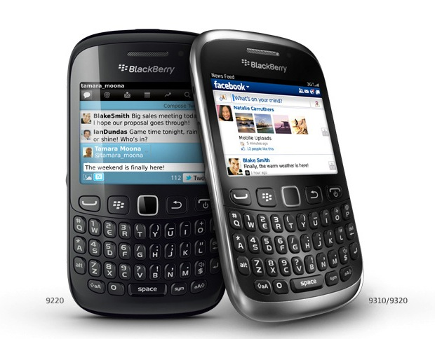 BlackBerry Curve 9310: Simplicity at your finger tips