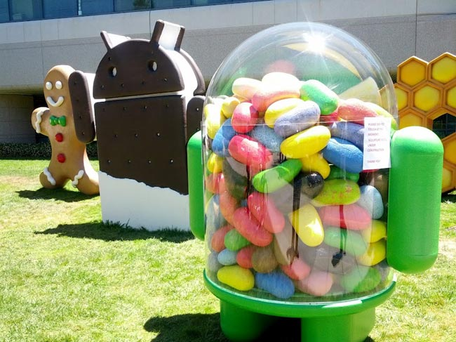 Google rolls out Jelly Bean update for Galaxy Nexus devices