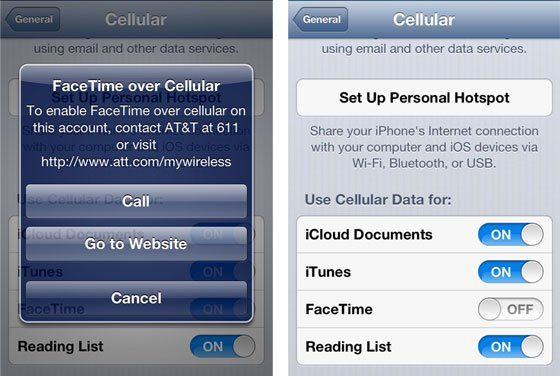AT&T charges subscribers for FaceTime calls?
