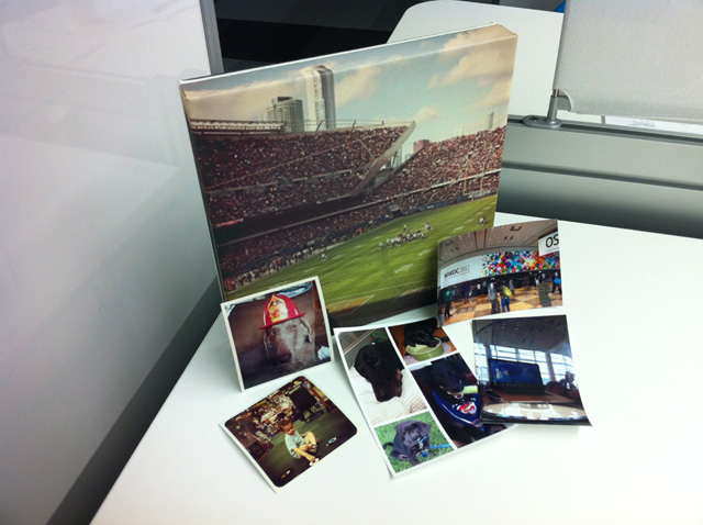 Receive printed photos of your images at your doorstep