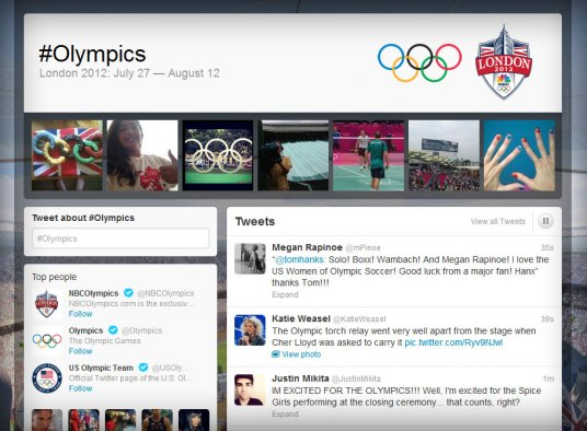 2012 Olympic tweets surpass these of 2008 Olympics