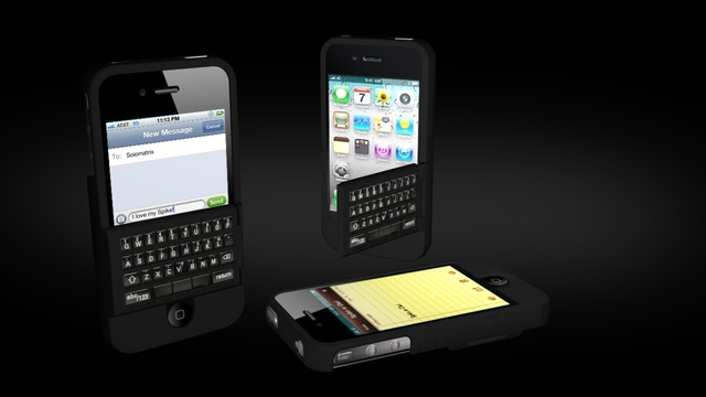 Spike combines physical QWERTY keyboard with your iPhone case