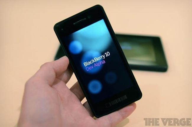 BlackBerry 10 devices are presented by RIM to telco companies