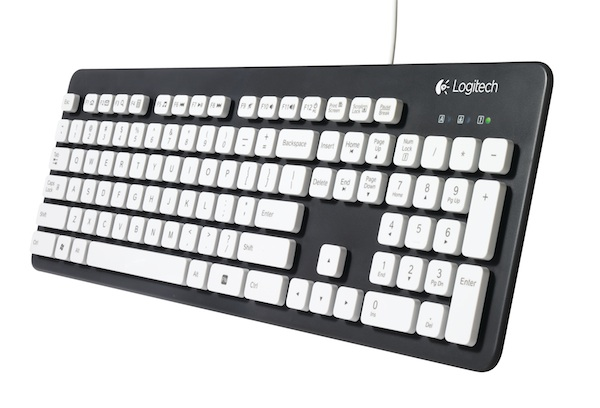 Avoid unnecessary keyboard spills with Logitech Washable K310