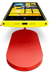 Lumia 920 built in wireless charging