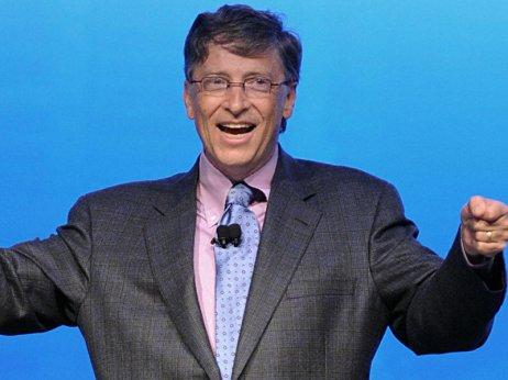 Bill Gates excited on Windows 8