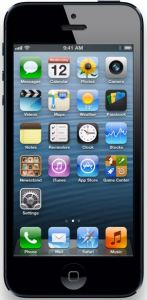 iPhone 5 Front view