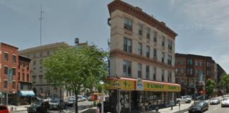 Street View as seen through a Safari browser