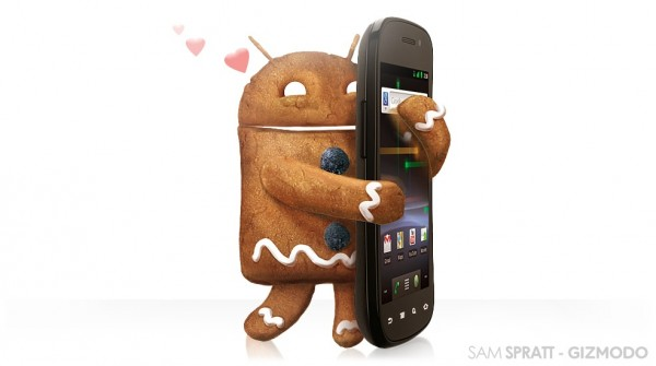 Android 2.3 Gingerbread still tops Android OS market