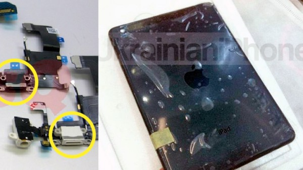 iPad mini leaked photos show black and white tablets