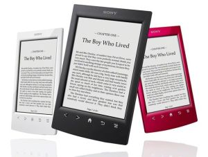 Sony discontinues e-reader