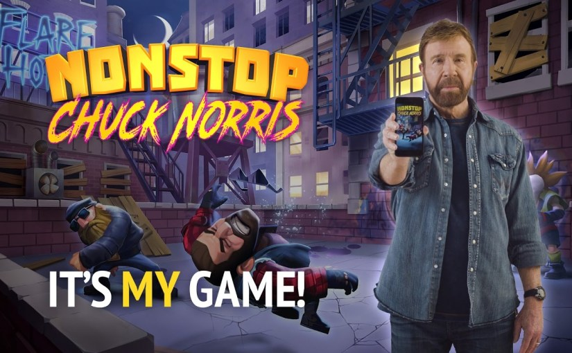 Chuck Norris Fights Bad Guys Nonstop on iOS and Android
