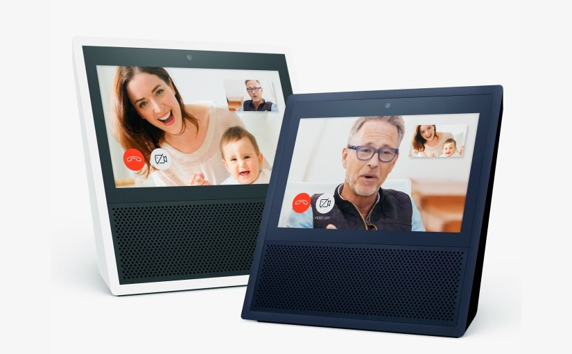 Echo Show Which Supports Youtube Created by Google and Lenovo