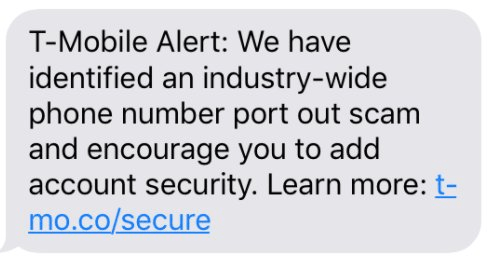 T-Mobile Warns User of Phone Hijacking Scam