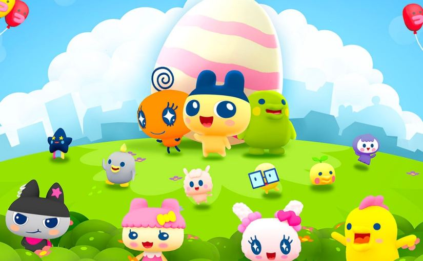 Tamagochi lands on iOS and Android