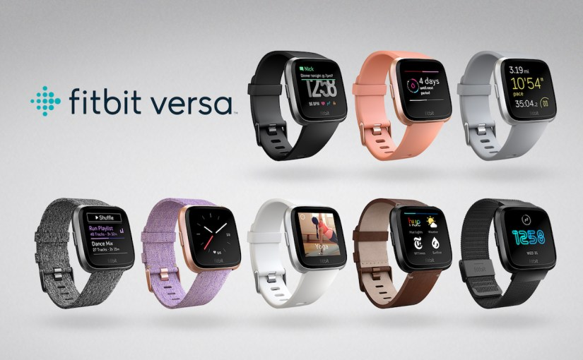 Fitbit: New Apple Watch Rival 'Versa' and Kid-Friendly 'Ace' Announced