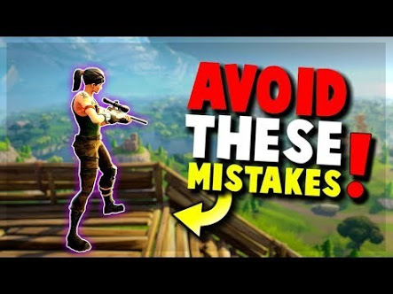 Common Mistakes that Players Make in Fortnite