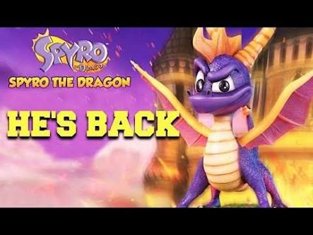 Spyro the dragon of the 90's
