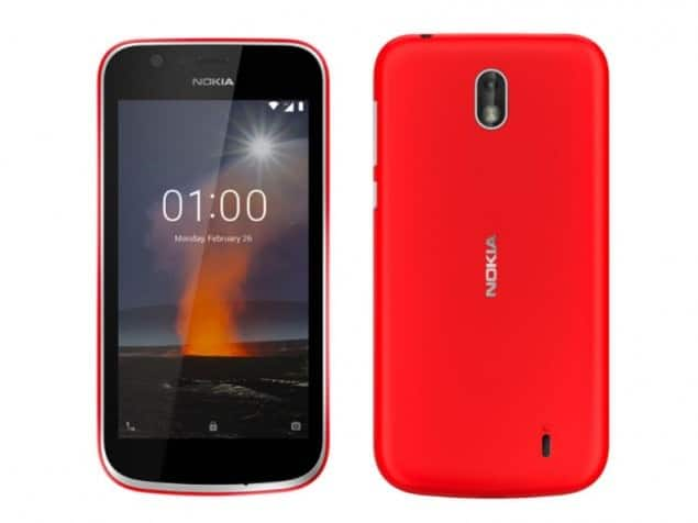 Nokia 1 Android Go Smartphone Launched in India, Price at Rs. 5,499