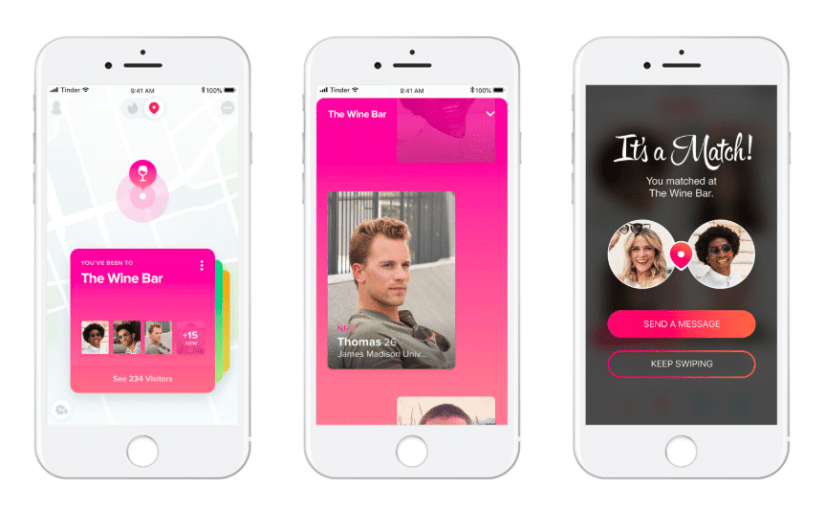Tinder Officially Announces Location-Sharing Feature Called Places