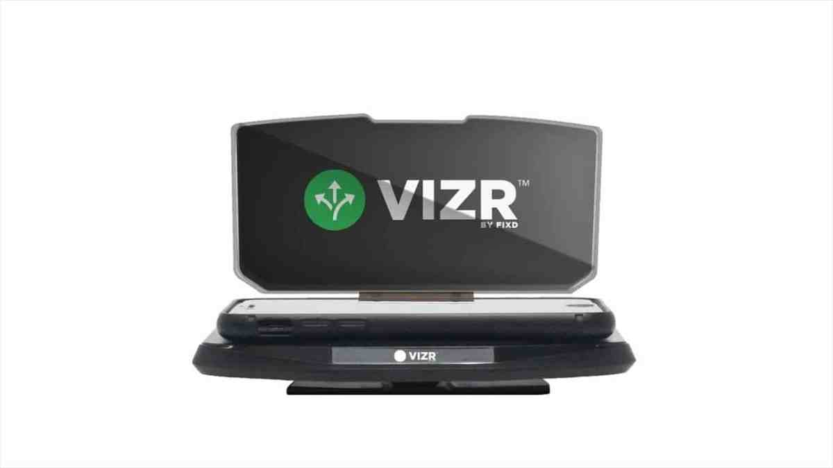 VIZR: Use Your Smartphone as Display While Driving