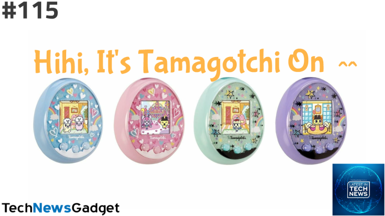 #115 Hihi It's The Tamagotchi On