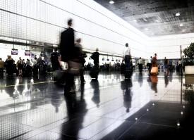 Airport rush (TSA.gov)