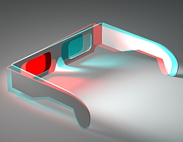 3D glasses (Dominic Alves/Flickr)