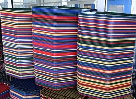 Stacks of cafeteria trays (John Lester/Flickr)