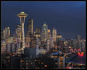 Seattle skyline (Kelly Bailey/Flickr)