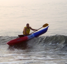 Ocean kayaker (A. Kotok)