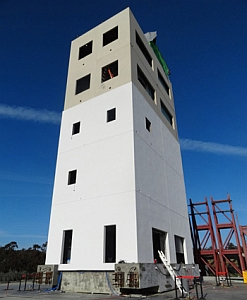 Seismic test building (U.C. San Diego)