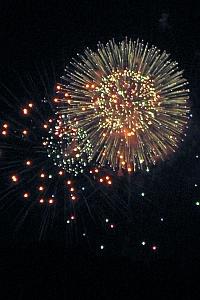 Fireworks over the National Capital Mall, 2009 (A. Kotok)