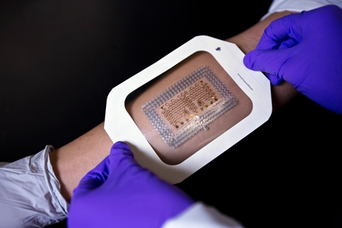 Epidermal electronic patch