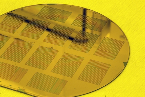 Sensors on wafer