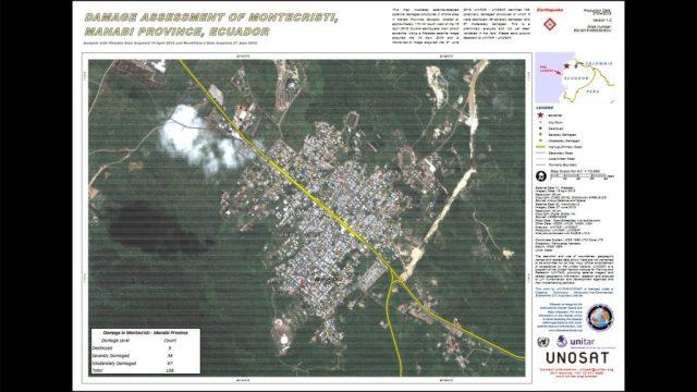 Ecuador earthquake damage report