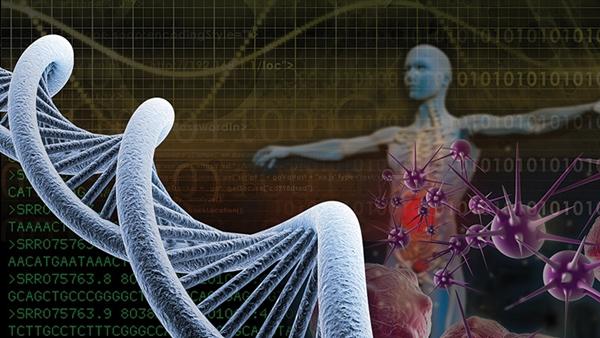 Computational biology illustration