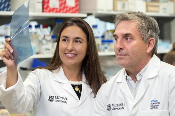 Eliana Mariño and Charles MacKay
