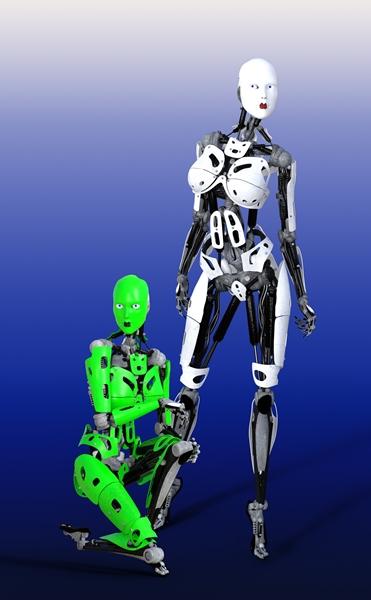 Robots illustration