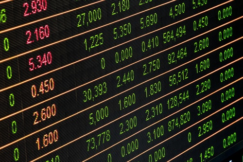 Digital finance display