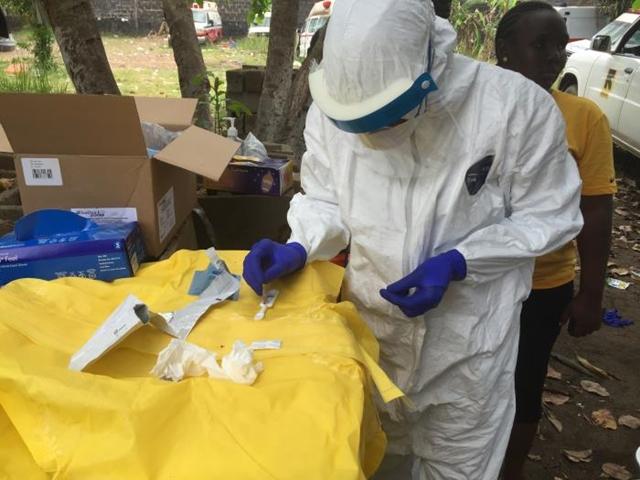 Ebola diagnostics