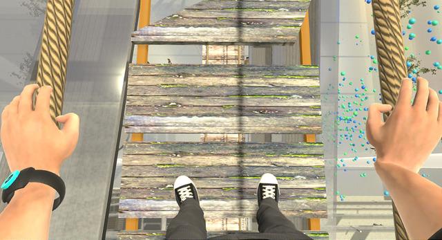 Scene from VR program