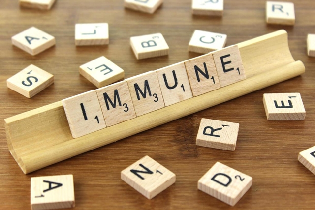 Immune - scrabble tiles