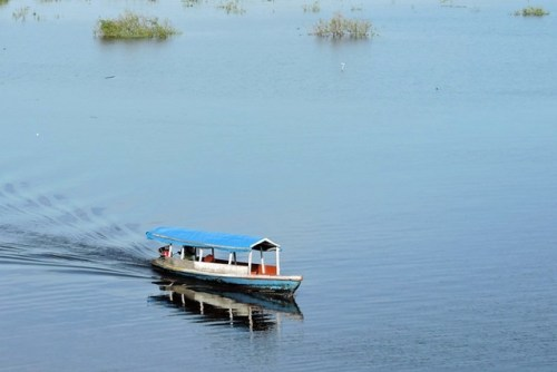 River taxi in Peru